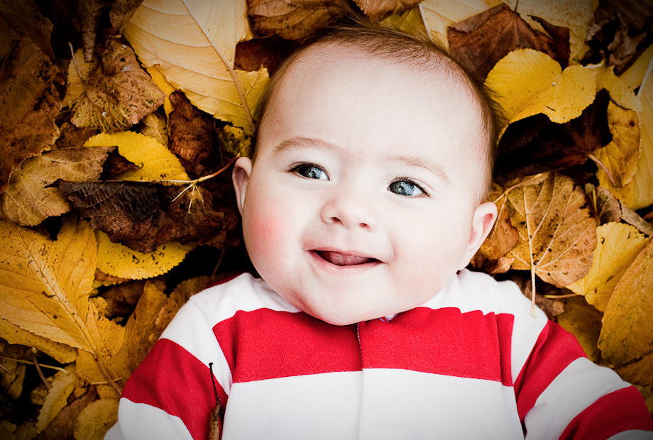 Image result for BABY IN AUTUMN