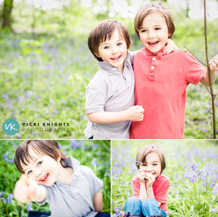 photographing-kids-in-bluebells-vicki-knights-photo