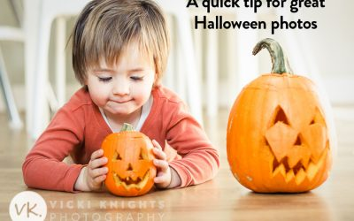 My simple tip to take better Halloween photos of your children